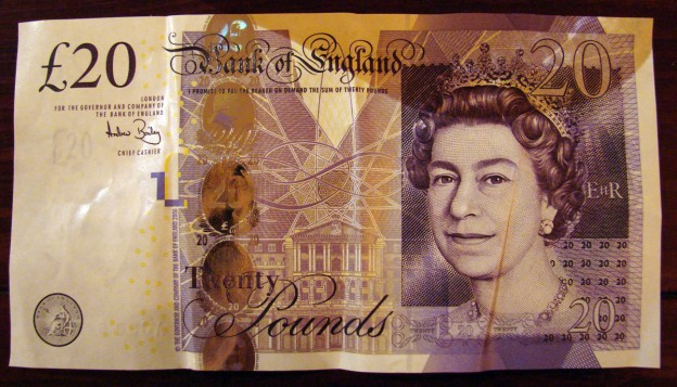 New £20 note