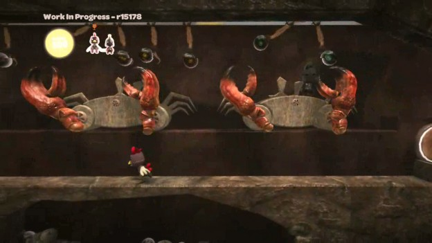 Little Big Planet: Now with GIANT ENEMY CRABS